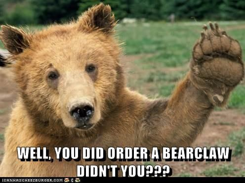 bear bear claw confusion order specific - 6604632320