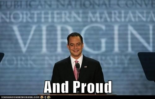 proud Reince Priebus rnc support group virgin