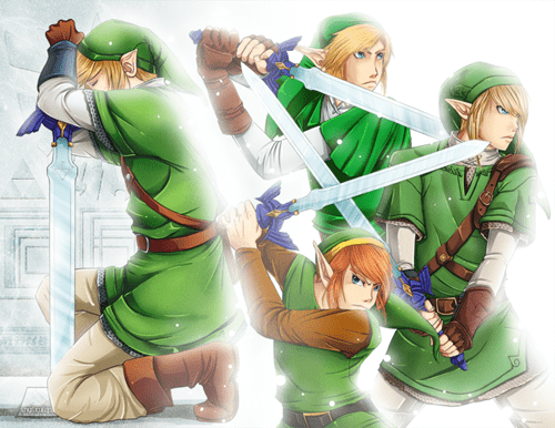 Fan Art legend of zelda link video games - 6605204224