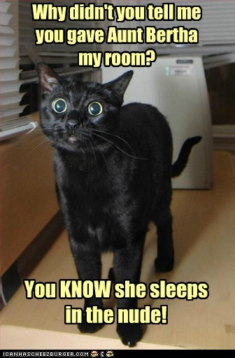 aunt bertha nude fat gross ew Cats captions - 6605322240