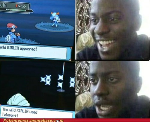 gameplay,kirlia,nooooooo,shiny,teleport