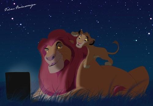 disney Fan Art the lion king - 6605517824