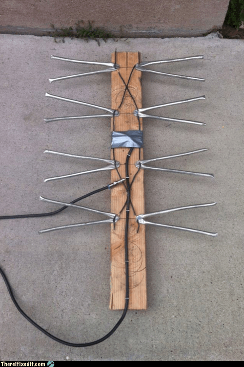 2x4,antenna,reception,tv antenna
