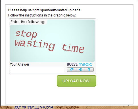 internet re-captcha wasting time - 6605868288