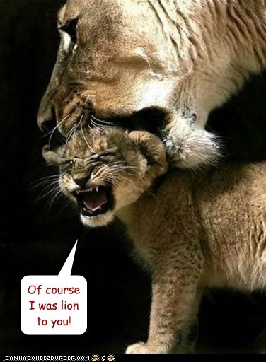 lion cub pun lying name parent mom - 6606013440