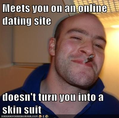 Online dating skinsuit