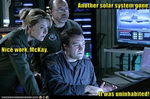rodney mckay david hewlett amanda tapping Stargate stargate atlantis - 6606512640