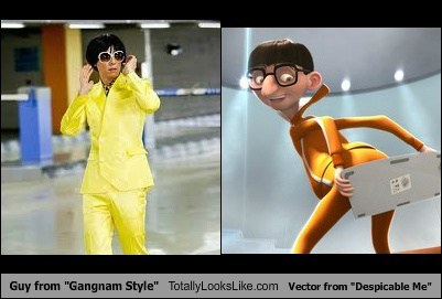 despicable me,funny,gangnam style,TLL,vector