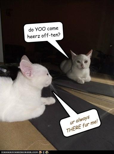 do YOO come heerz off-ten?