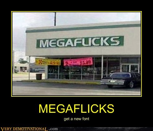 font mega flicks bad sign - 6608237056