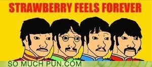 feels literalism shoop similar sounding strawberry fields forever the Beatles - 6608552448