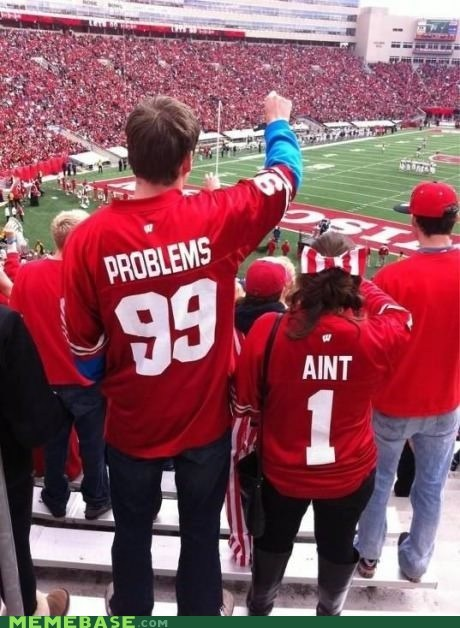 99 problems football IRL jersey - 6608558592