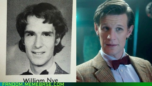 11th Doctor,bill nye,doctor who,totally looks like