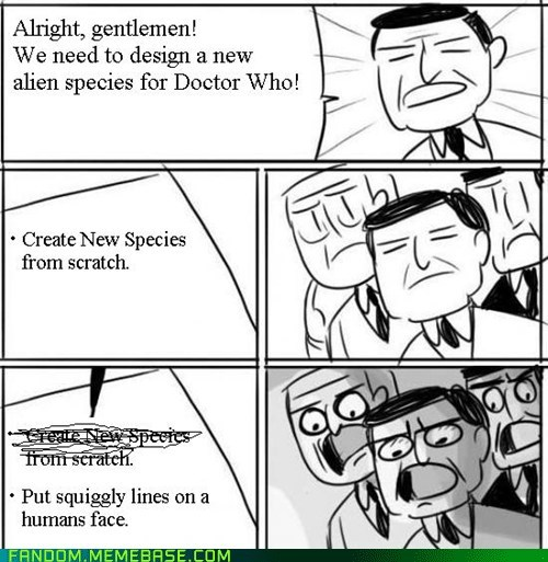 Aliens bbc doctor who Memes series 7