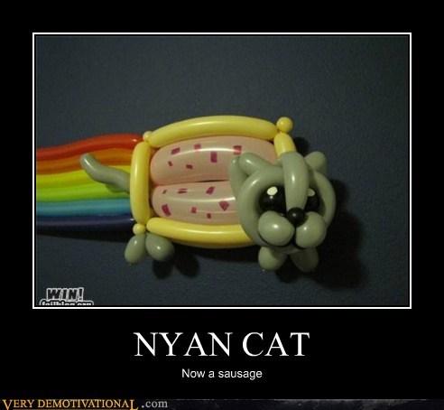 Balloons,Nyan Cat,poptart,sausage