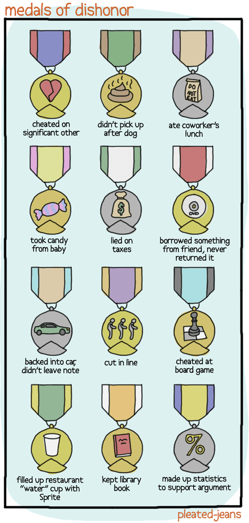 ashamed,dishonor,jerks,medal of honor