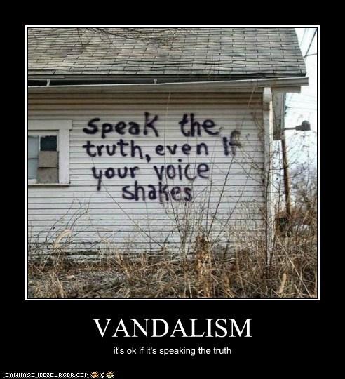 vandalism graffiti truth - 6609904128