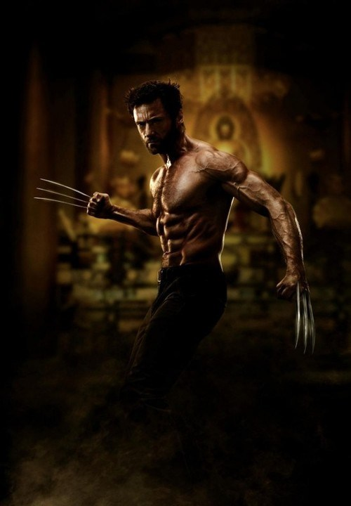 actor celeb first look hugh jackman promo wolverine - 6610164480
