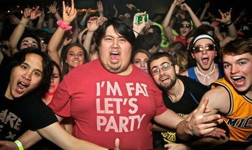 fat Party T.Shirt - 6610172928