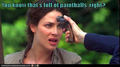 paintballs gun warehouse 13 myka berring joanne kelly - 6610234112