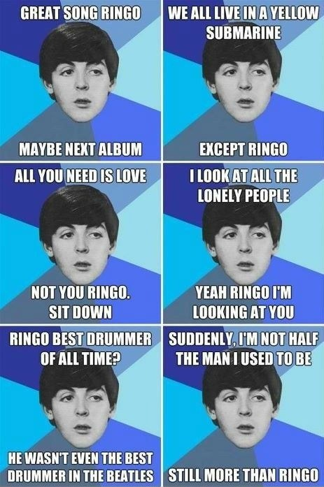 paul mccartney Ringo the Beatles - 6610235904