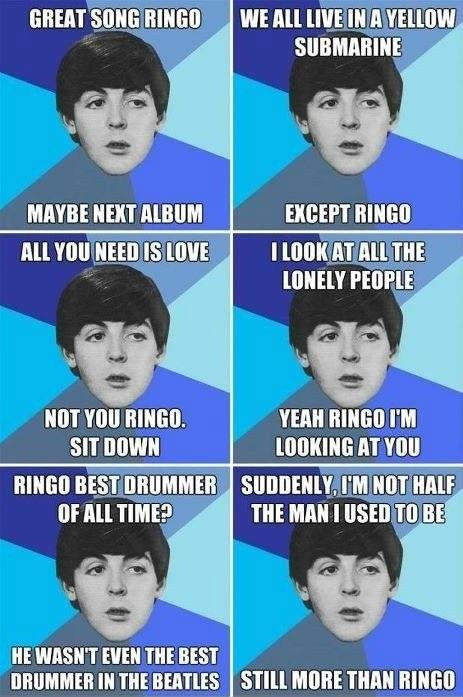 paul mccartney Ringo the Beatles - 6610235904