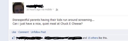 chuck e cheese facebook - 6610404352