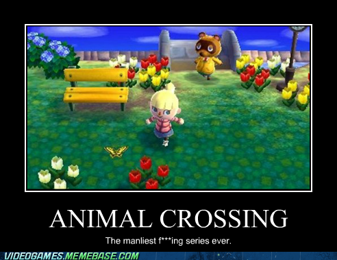 animal crossing manly nintendo power - 6610417664