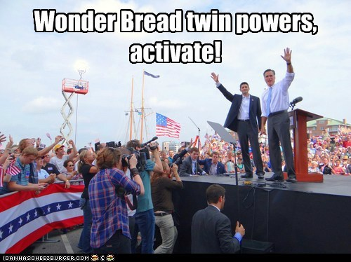 wonder twins powers activate wonder bread Mitt Romney paul ryan - 6610472960