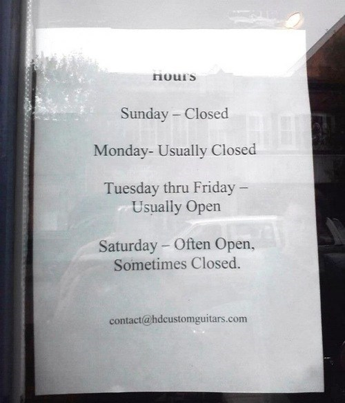 hours office hours store hours yes-were-open