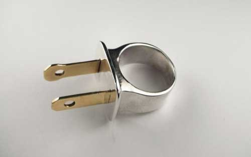 outlet plug poorly dressed ring socket - 6610534656