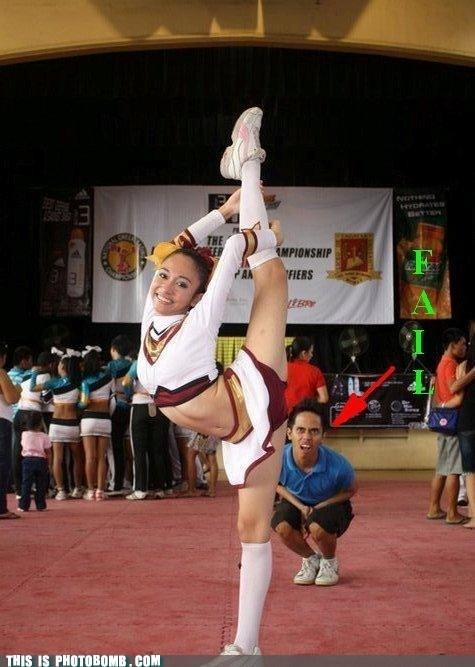 amazing cheerleader dafuq omg - 6610561536