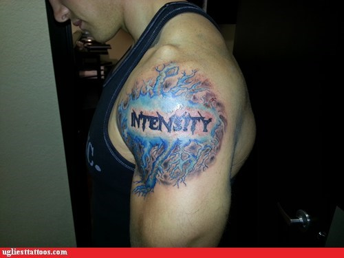 intensity lightning shoulder tattoos - 6610707200