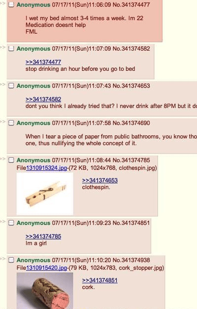 4chan,cork,girl,medication,peeing