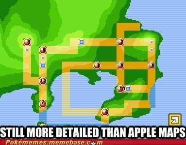 apple,iphone,Maps,Pokémon
