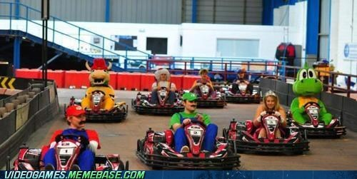 awesome,costume,IRL,Mario Kart