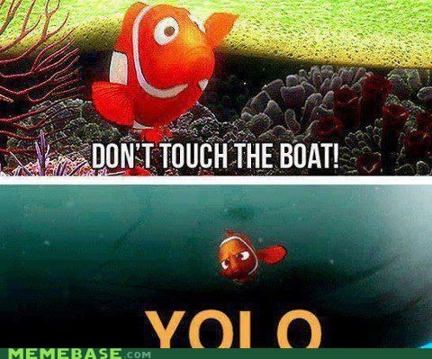 touch boat yolo Movie finding nemo - 6610865152