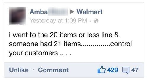 control your customers Walmart - 6610950656