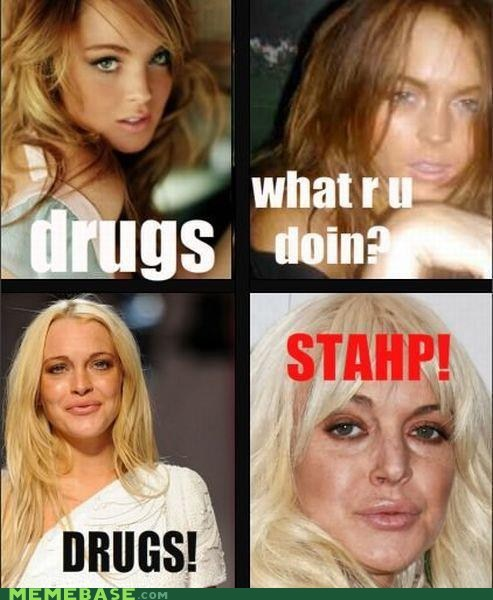lindsey lohan,stahp,t d word