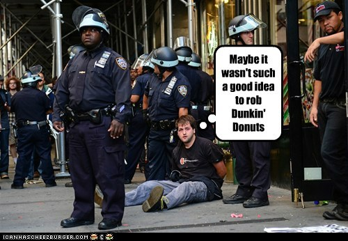 arrested donuts dunkin donuts police - 6611109888