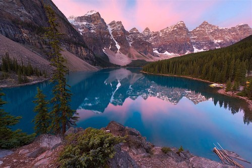 alberta,Canada,lake,mountains,reflection
