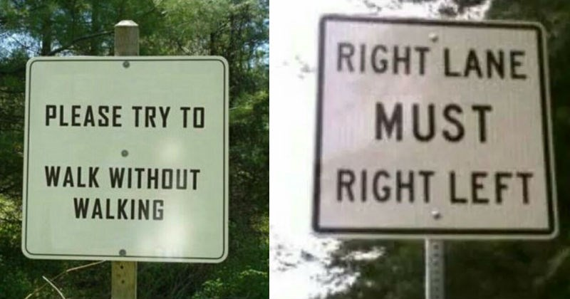 sign confusing cringe ridiculous funny - 6611205