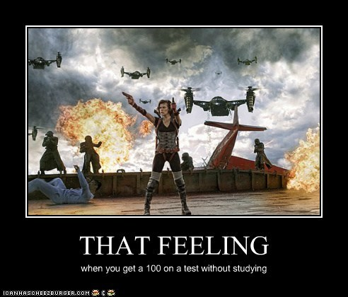 that feel,test,studying,resident evil,resident-evil-retribution,awesome,milla jovovich,alice