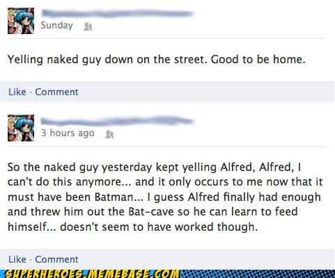 alfred bat cave batman comment - 6611260928