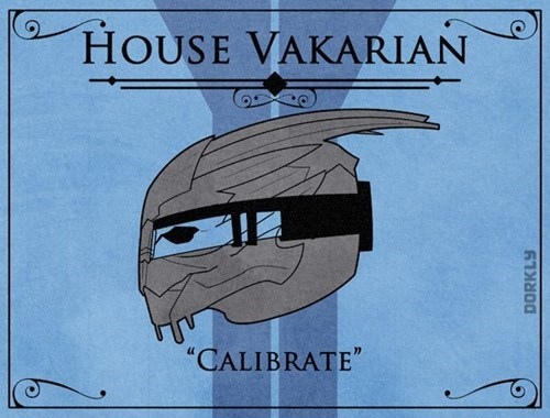 Game of Thrones house sigils mass effect