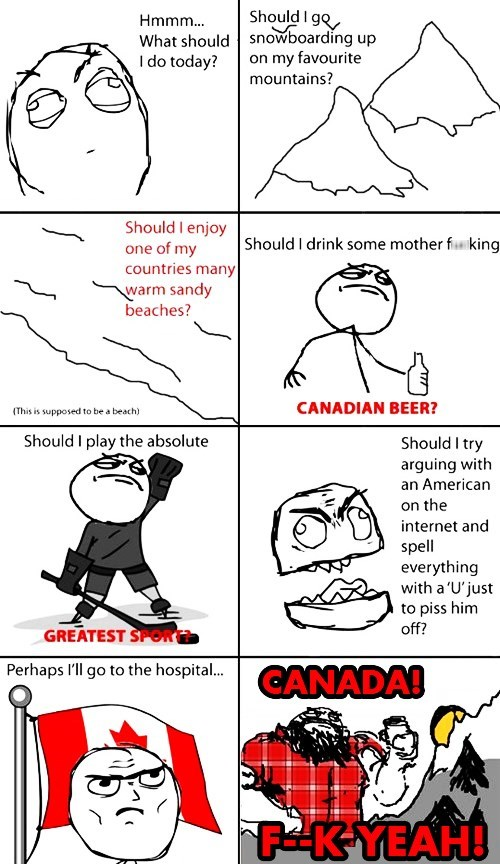 Like a Boss,Canada,determined,canadians