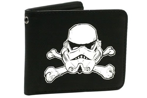 bones helmet Movie scary star wars stormtrooper wallet