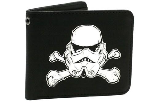 bones helmet Movie scary star wars stormtrooper wallet - 6611488000