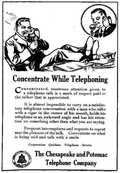 etiquette instructions phone telephone - 6611502336