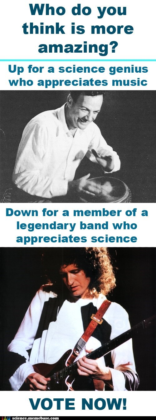 brian may,Music,richard feynman,science